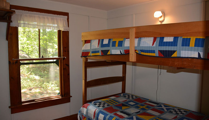 Guest room with bunks