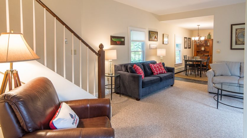 Living room from main entrance