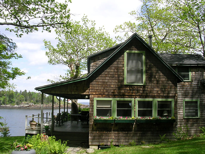 rental property ninety home chestnut maine water three on camden vacation in the cottages cottage asp