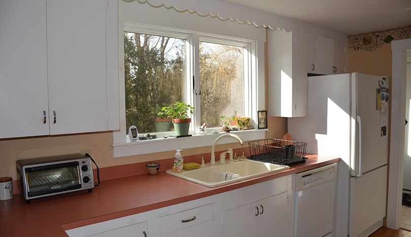 Kitchen from dining