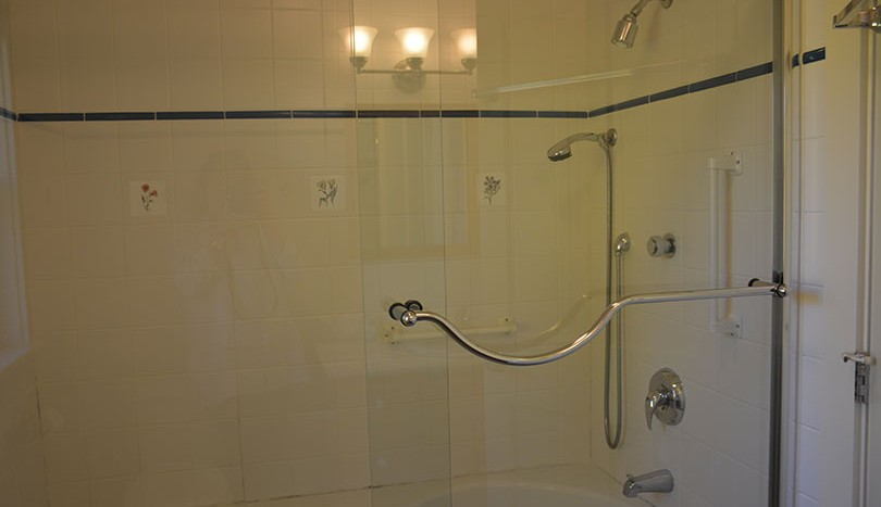 Master ensuite shower