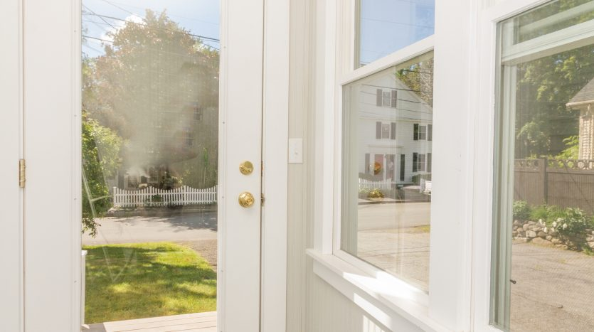 Back mud room