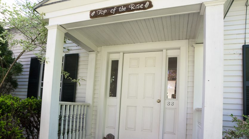 Top of the Rise front entrance