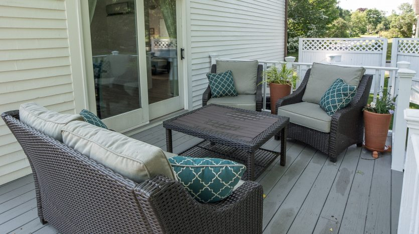 Deck lounging