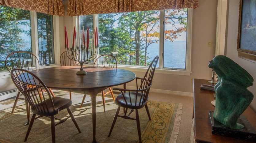 Dining room with spectacular views