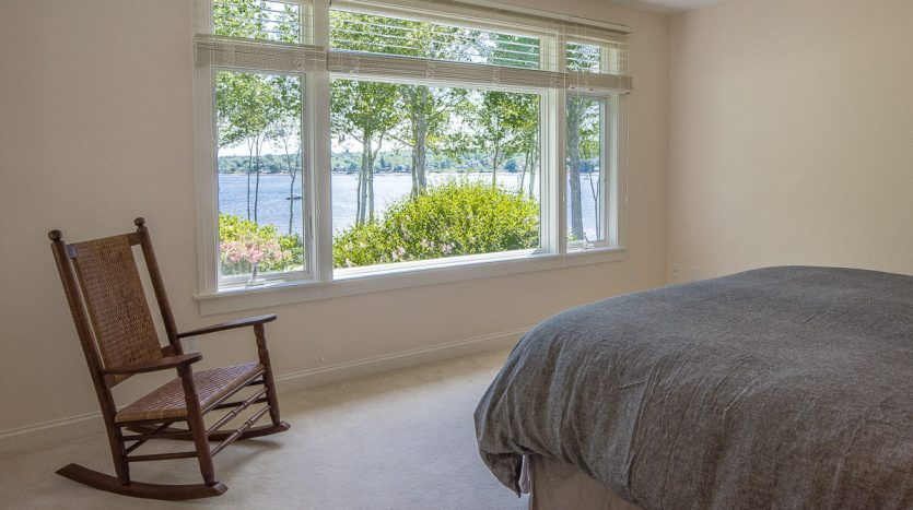 Spectacular views from master bedroom