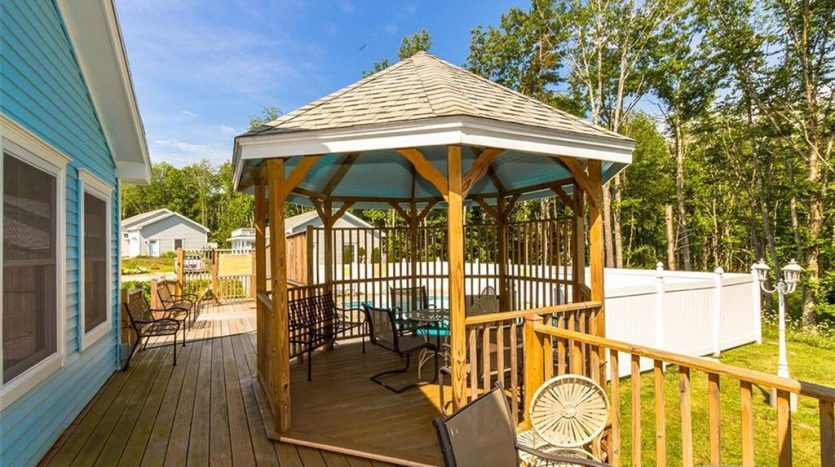 Gazebo seating