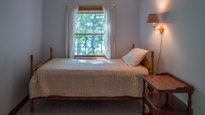 Twin bed in master bedroom
