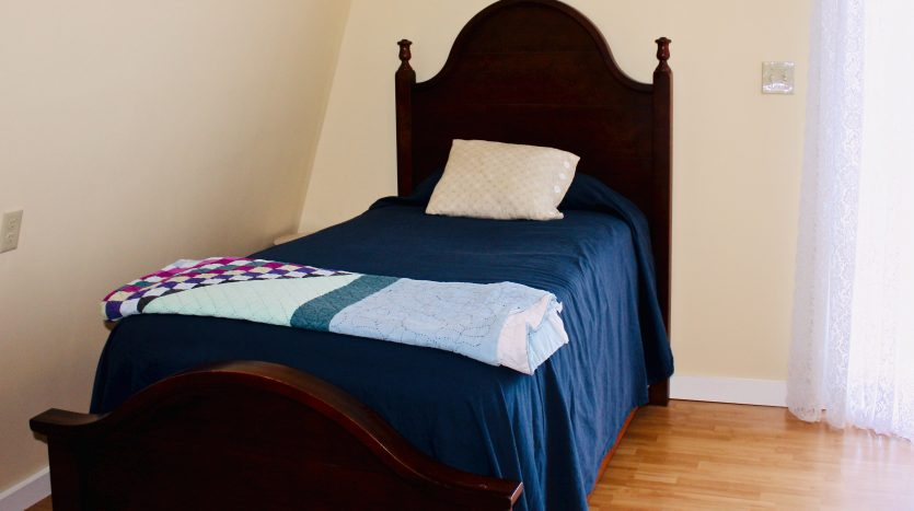 Guest cottage twin in master bedroom